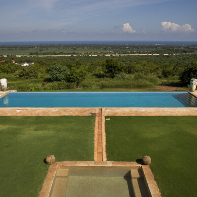 Manor house in Africa