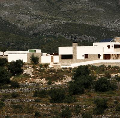 Modern luxury retreat in the countryside Benimaurel, Alicante, Spain