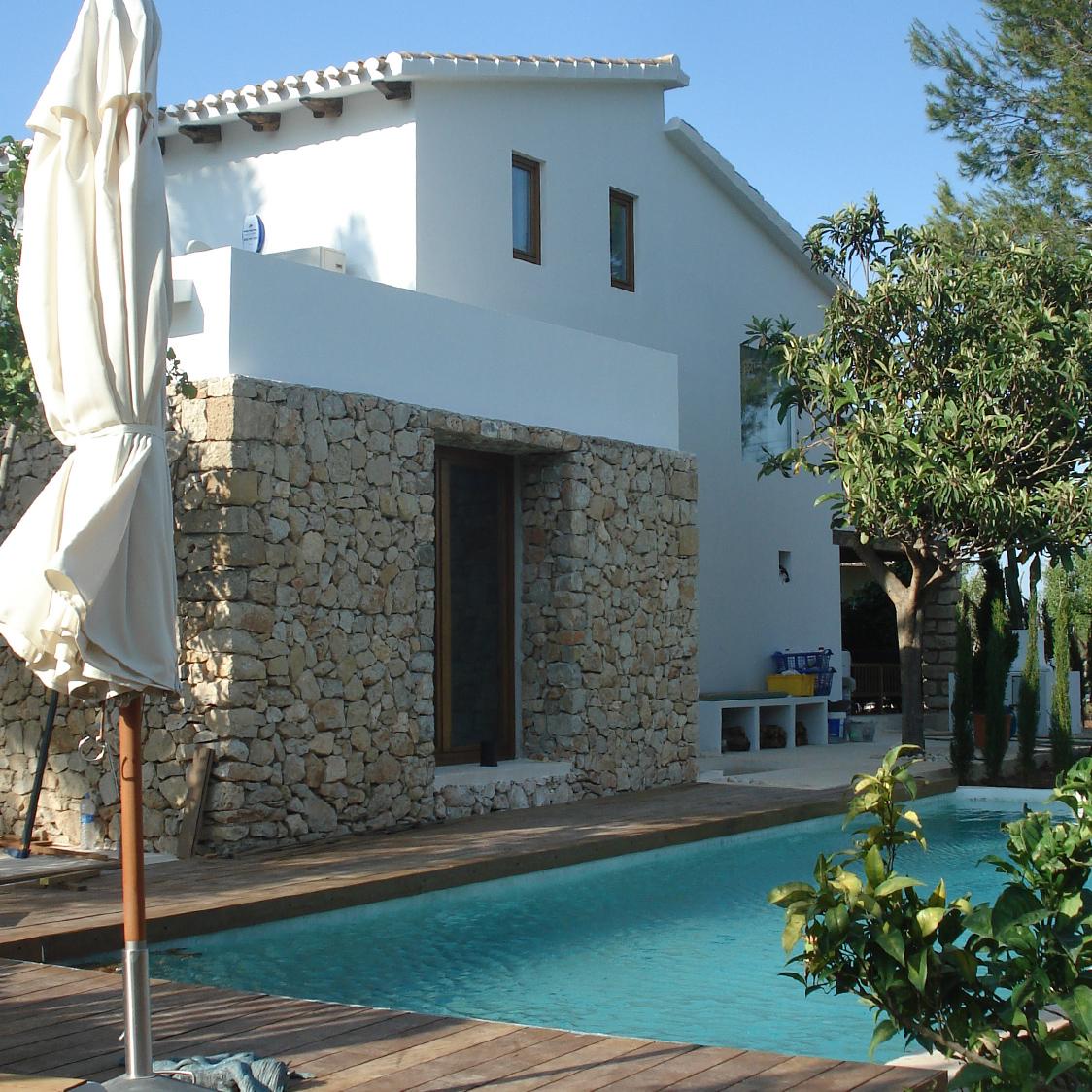 Traditionelles Landhaus im mediterranen Stil