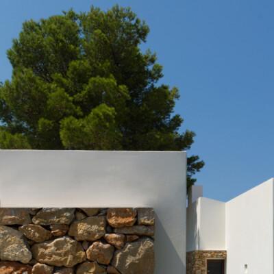 Modern mediterranean patio house in Denia, Costa Blanca - Spain