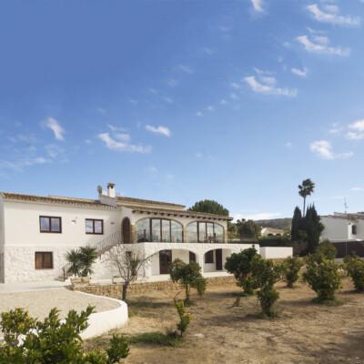 Refurbishment in Xabia, Spain. Exterior.