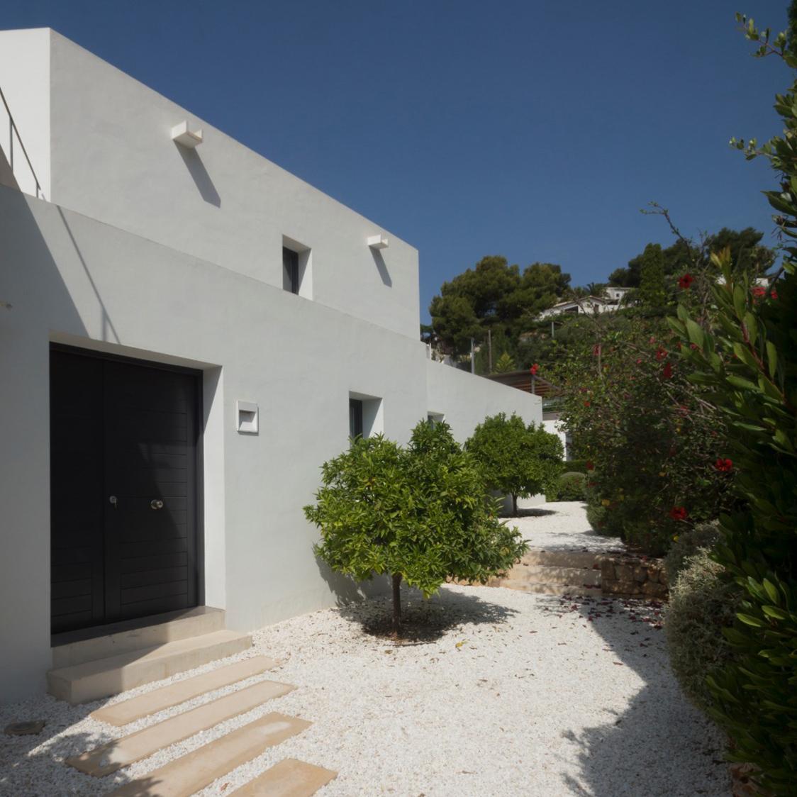 Minimalistisches Landhaus im Mediterranen Stil