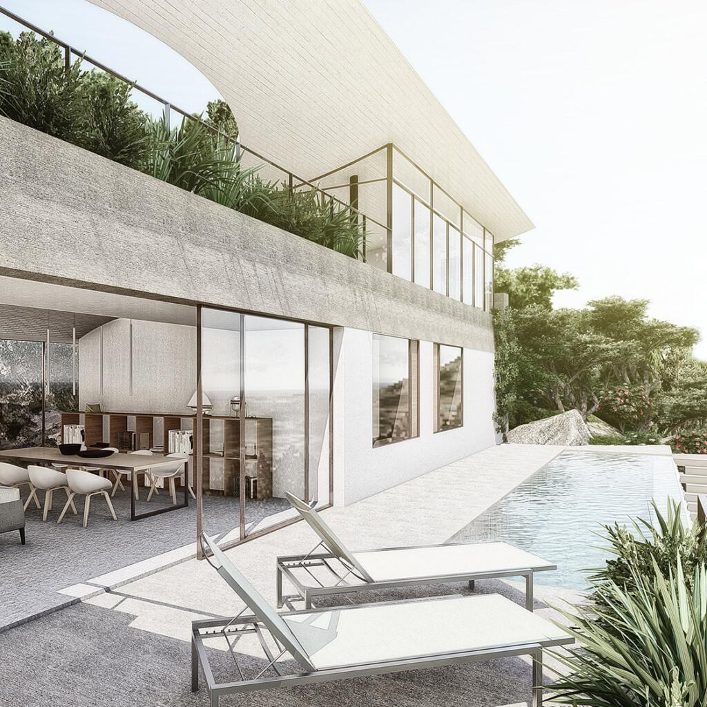Hillside house Pwani Architects